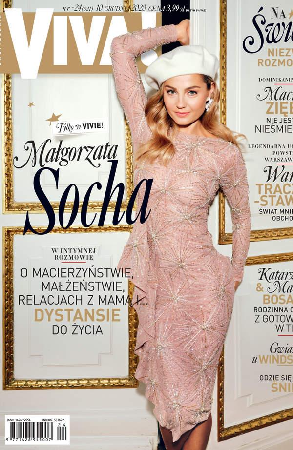 Małgorzata Socha, VIVA! okładka 24/2020, Małgorzata Socha, VIVA! grudzień 2020