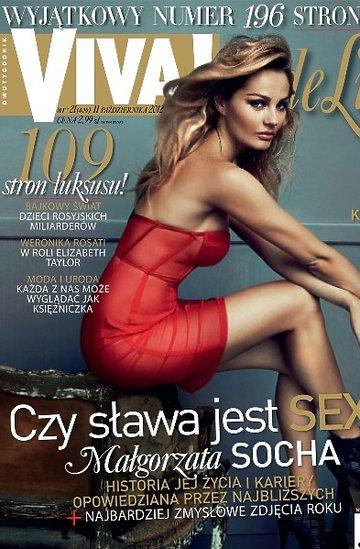 "Małgorzata Socha, ""Viva!"" okładki"