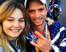 Małgorzata Socha i jej mąż są razem ponad 22 lata, lecz rzadko pokazują się razem...