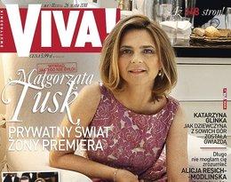 Małgorzata Tusk na okładce Vivy!