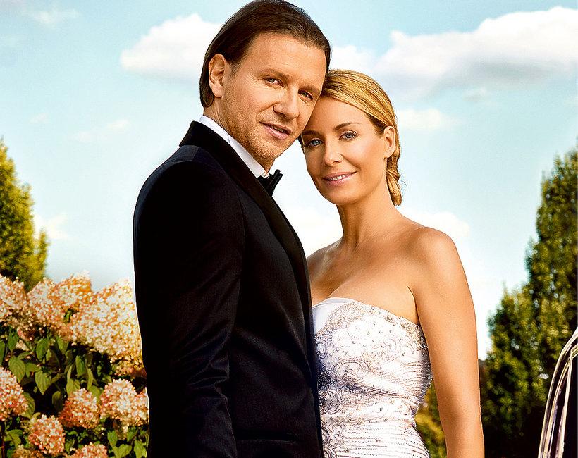 Małgorzta i Radosław Majdanowie, ślub, sesja VIVA!