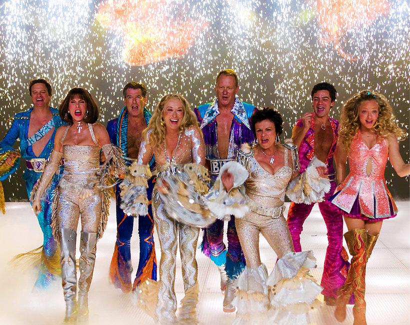 Mamma Mia, Meryl Streep, Pierce Brosnan, Colin Firth