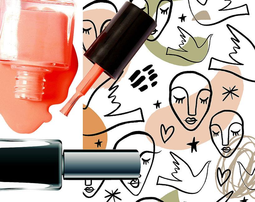 manicure a la Picasso