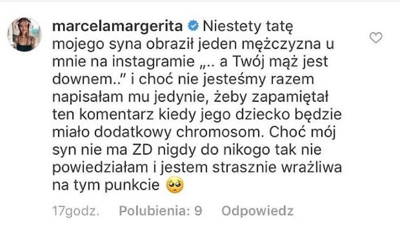 Marcela Leszczak komentarz