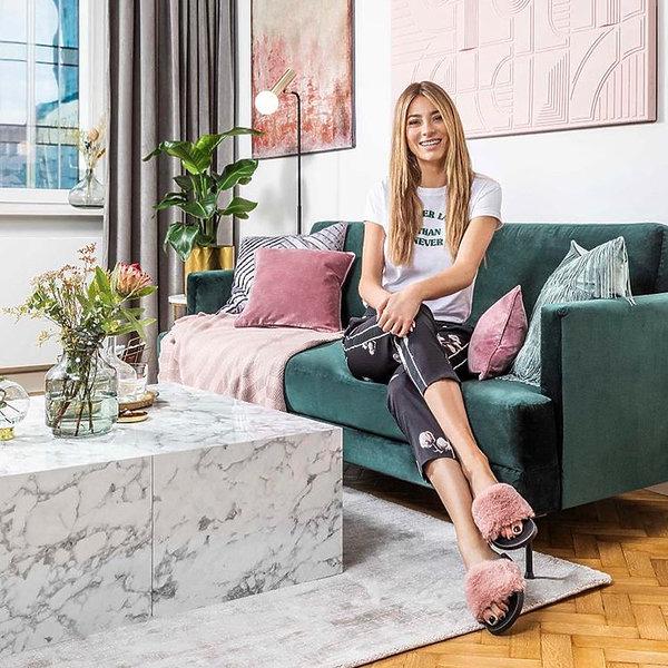 Marcelina Zawadzka, mieszkanie