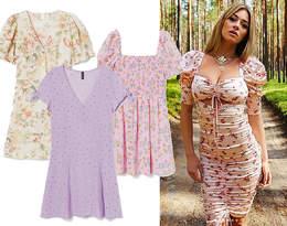 Marcelina Zawadzka w sukience w kwiaty w stylu boho. Podobną kupisz w H&M za 59 zł!