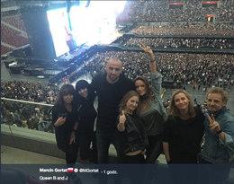 Marcin Gortat i Alicja Bachleda-Curuś, koncert Beyonce i Jay-Z w Warszawie