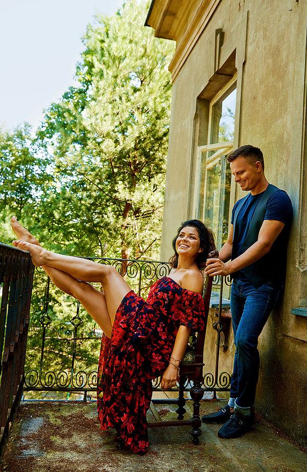 Marcin Hakiel i Katarzyna Cichopek, VIVA! 18/2019, Marcin Hakiel i Katarzyna Cichopek, VIVA! wrzesień 2019
