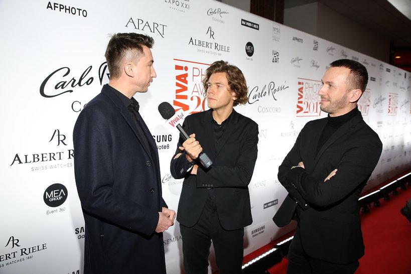 Marcin Paprocki, Mariusz Brzozowski i Piotr Wojtasik
