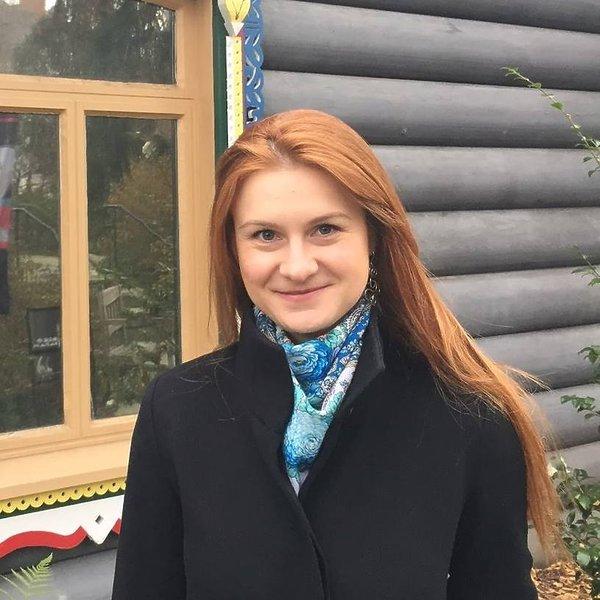 Maria Butina, szpieg z Rosji