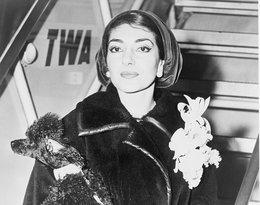 Maria Callas na lotnisku w Nowym Jorku w 1958 roku
