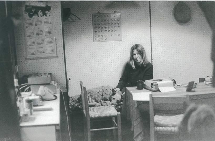 Maria Czubaszek w młodości