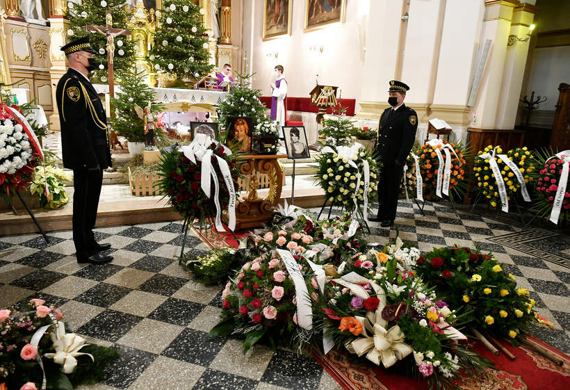 Maria Koterbska ostatnie pożegnanie
