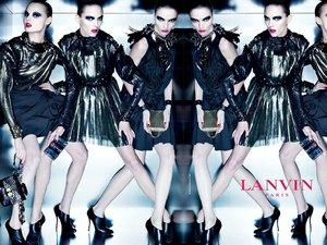 Mariacarla, Anja i Magdalenaw reklamie Lanvin