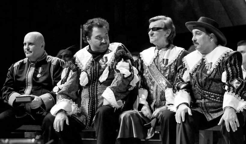 Marian Lichtman , Krzysztof Krawczyk , Ryszard Poznakowski , Slawomir Kowalewski, 2011 rok, 45-lecie zespolu Trubadurzy