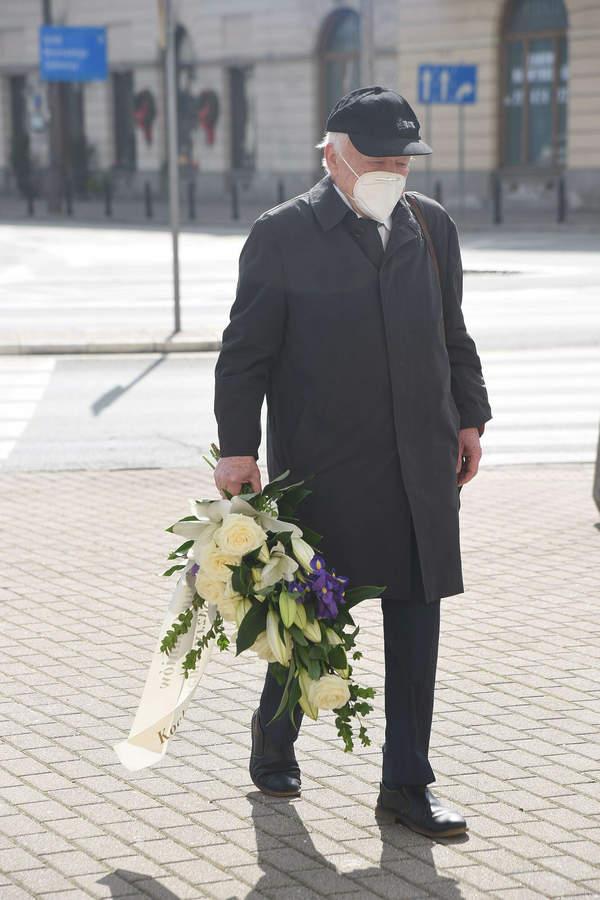 Marian Opania, Pogrzeb Krzysztofa Kowalewskiego