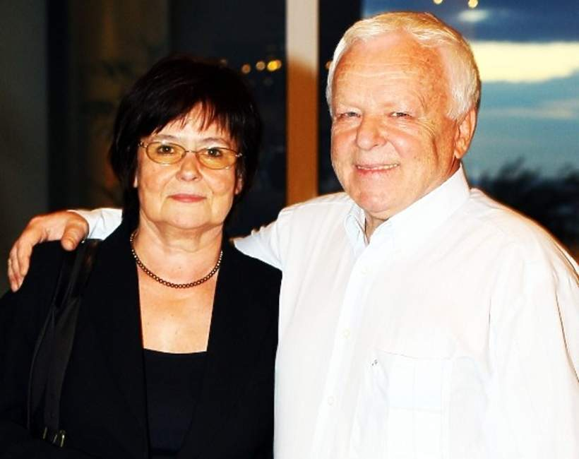 Marian Opania z żoną Anną, Marian Opania