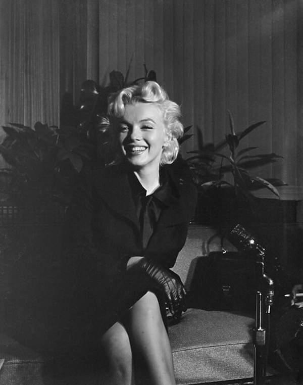 Marilyn Monroe 1956 rok