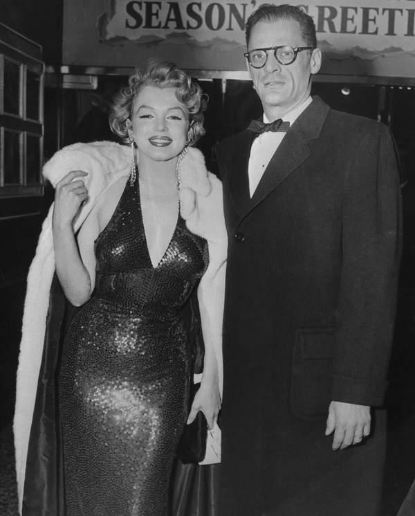Marilyn Monroe mężczyźni Alia Kazan