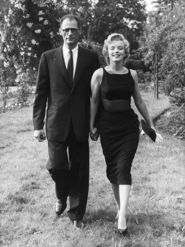 Marilyn Monroe mężczyźni Arthur Miller