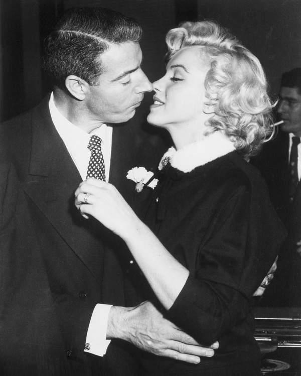 Marilyn Monroe mężczyźni, Joe DiMaggio