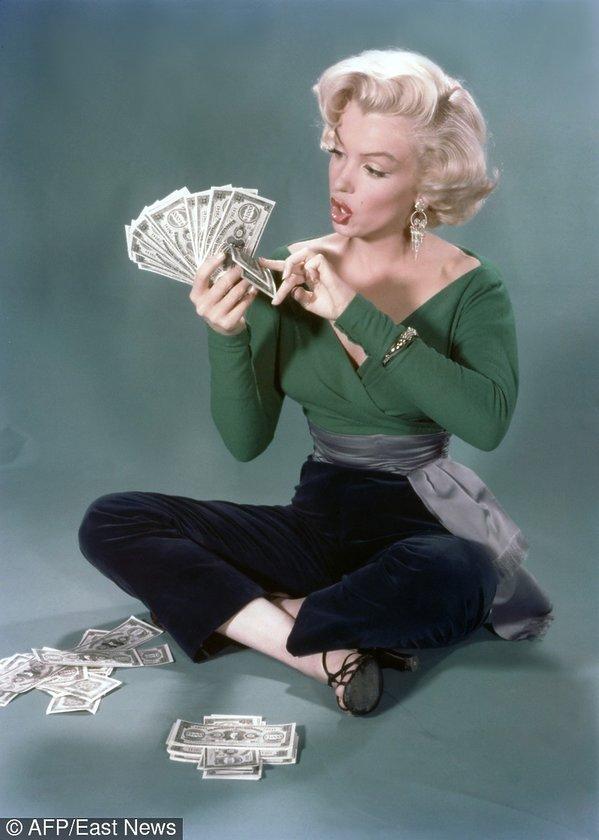 """Marilyn Monroe w filmie """"Mężczyźni wolą blondynki"""", 1953 rok"""
