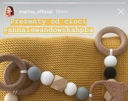 Marina, Liam, prezenty od Anny Lewandowskiej