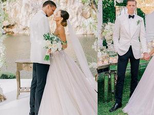 Marina w sukni ślubnej