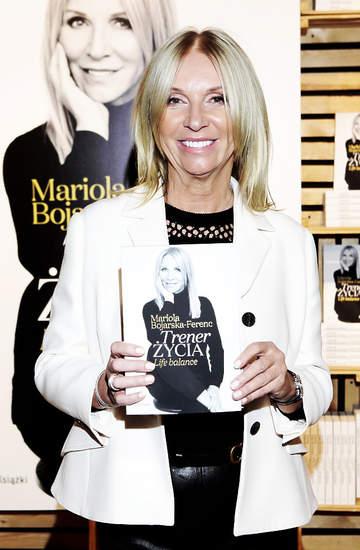 Mariola Bojarska-Ferenc, premiera książki Trener życia