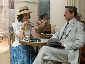 Marion Cotillard i Brad Pitt w filmie Sprzymierzeni