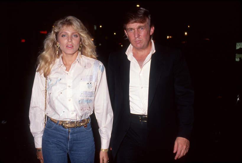 Marla Maples, Donald Trump