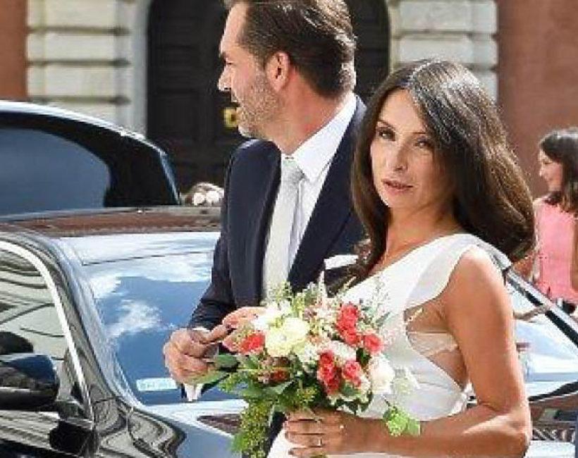 Suknia ślubna Marty Kaczyńskiej Marka Everydayofficial Vivapl