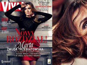 Marta Żmuda Trzebiatowska na okładce Vivy! listopad 2015