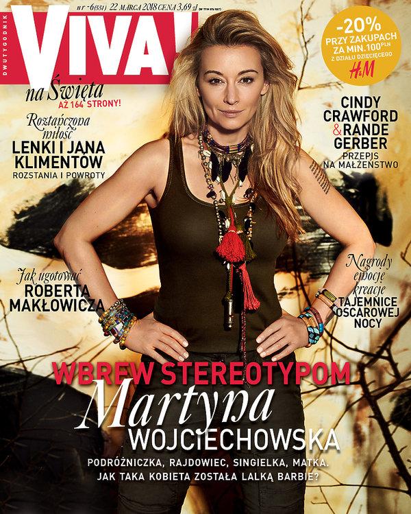 Martyna Wojciechowska, okładka, VIVA! marzec 2018