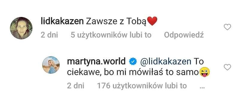 Martyna Wojciechowska, Przemysław Kossakowski