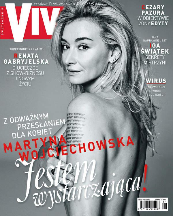 Martyna Wojciechowska, VIVA! 21/2020 okładka