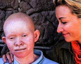 Martyna Wojciechowska z adoptowaną córką Kabulą
