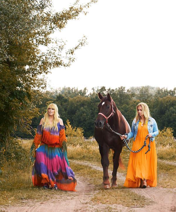 Maryla Rodowicz i Katarzyna Jasińska, VIVA! 13/2015