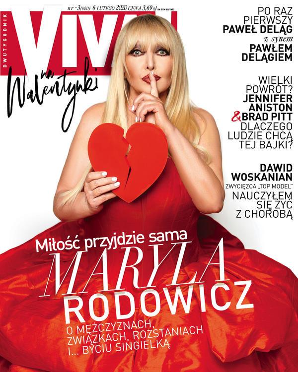 Maryla Rodowicz, Viva! 3/2020, Okładka