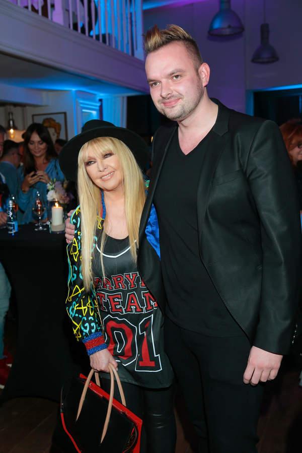 Maryla Rodowicz z synem Jędrzejem