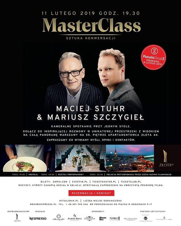Master Class Maciej Stuhr