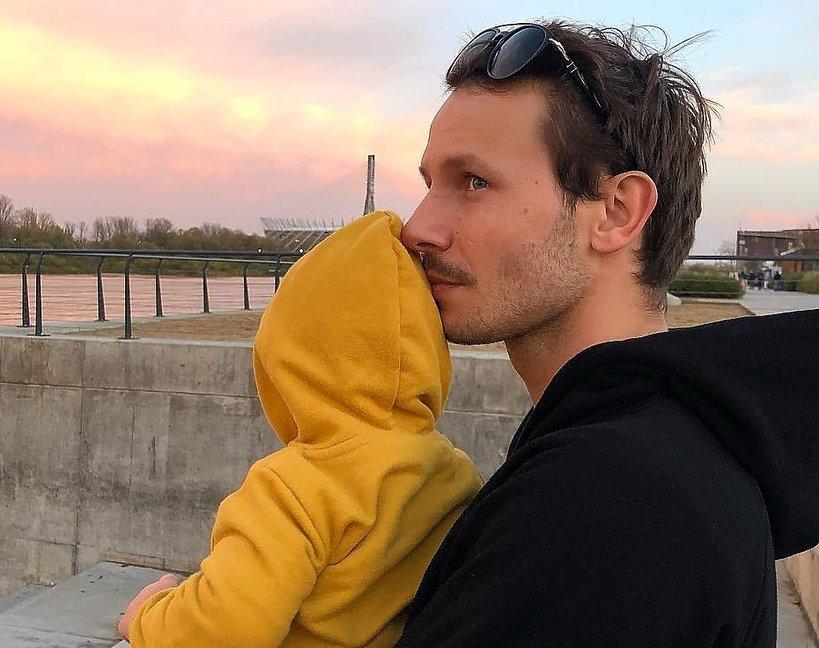 Mateusz Banasiuk z synkiem