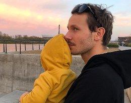 Tym zdjęciem z synkiem Mateusz Banasiuk rozczulił wszystkie fanki...