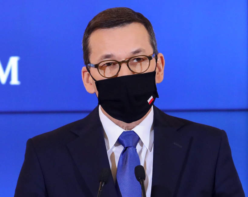 Mateusz Morawiecki, konferencja premiera
