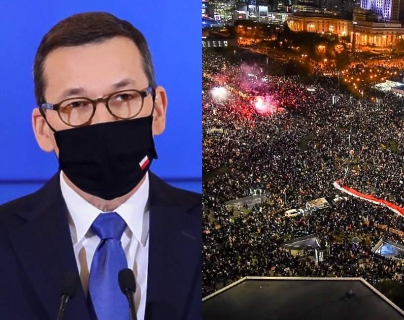 Mateusz Morawiecki, protesty