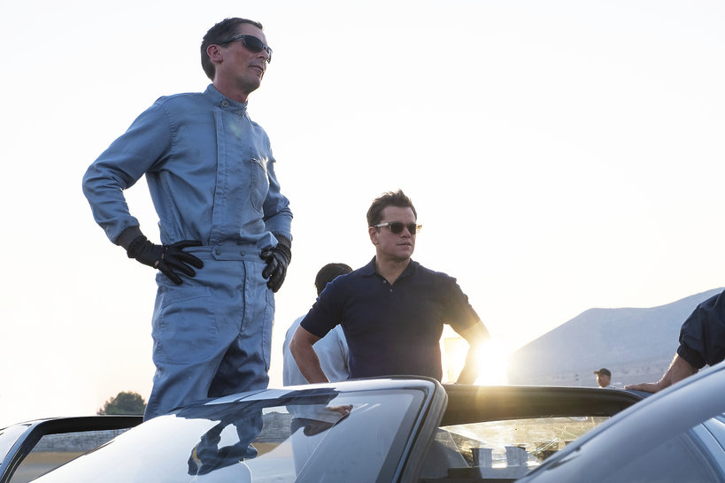 Matt Damon i Christian Bale