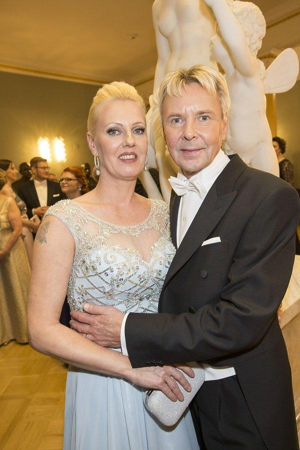 Matti Nykänen i piąta żona Pia