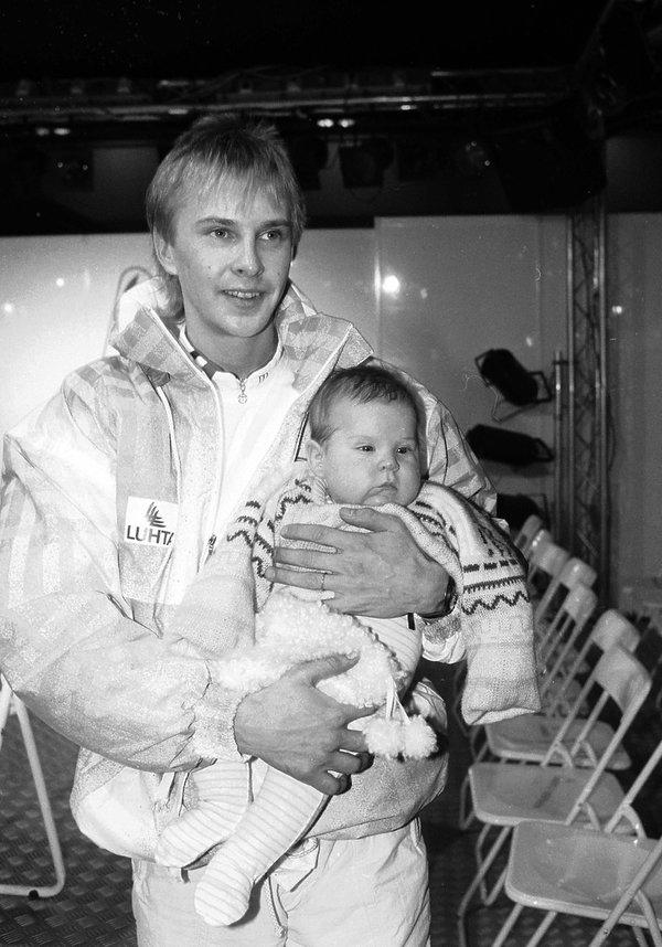 Matti Nykänen z synem