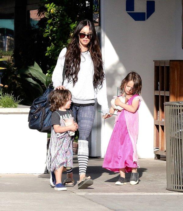 Megan Fox z dziećmi