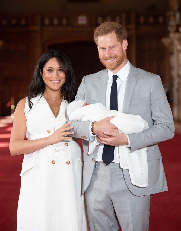 Meghan, Harry, chrzest córki